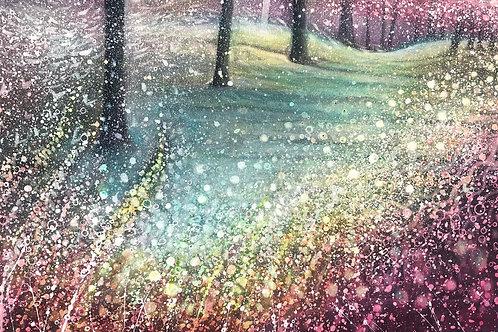 Original Painting Magic Forest