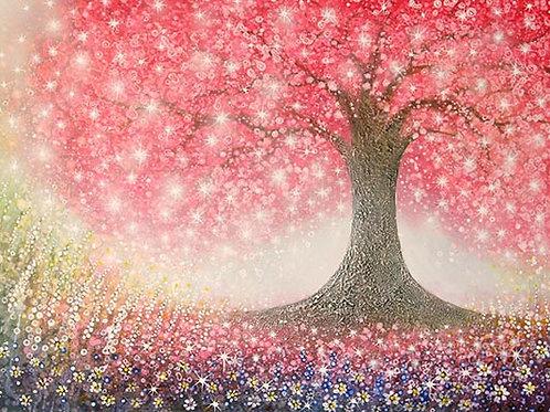 Blossom of  life      (Original Painting)