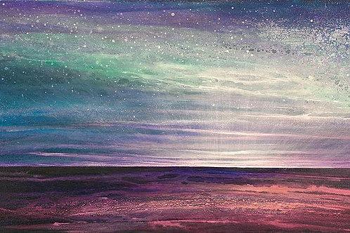Atlantic auroras  A3 print
