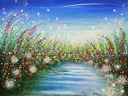 Spring Garden   (Original painting)