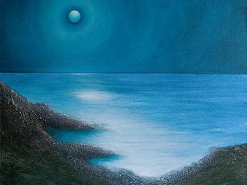 Mermaid Moon A3 print