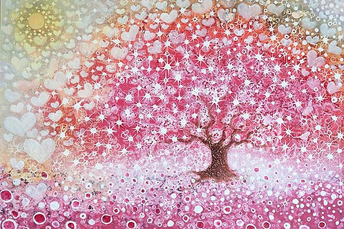 Happy Magic Tree  print