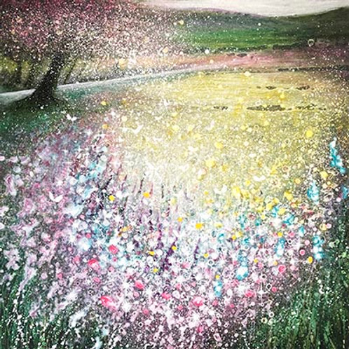 Orginal Painting Return of the Season Spring Celebration