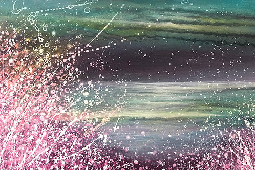 Original Painting Calm & Exciting Colour of the Night