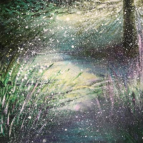 Orginal Painting The moment of spring breath