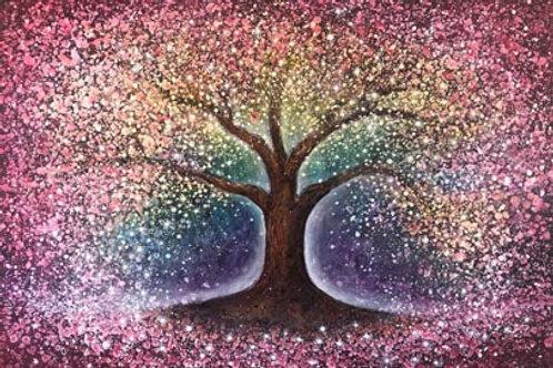 Original Painting Power of Tree of Life