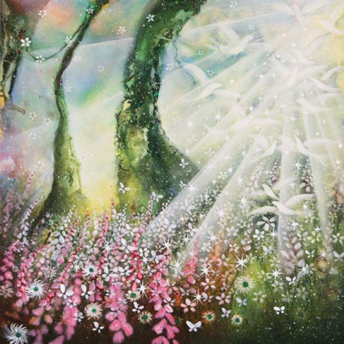 Last Moment of Tree of Life  (Original Painting)