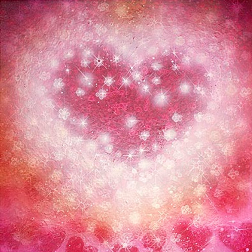 Cherry Heart  print