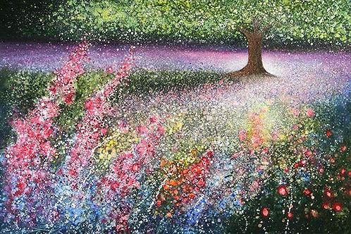 """ Heart of the Garden""  Original Painting"