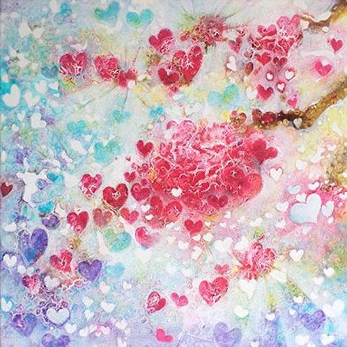 Love Across the Universe  print