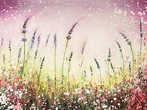 A3 print Love lavender