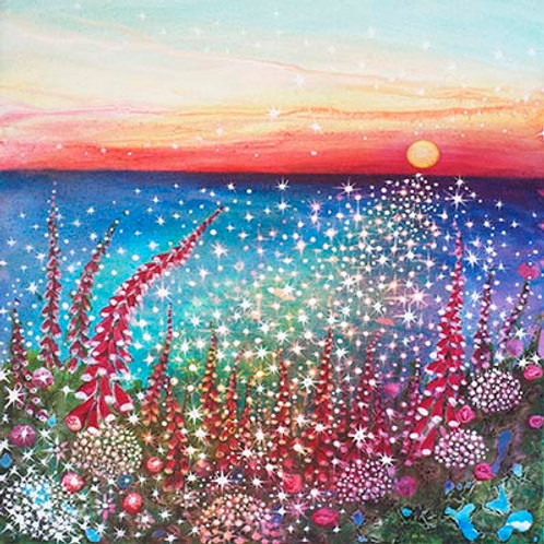Sunset (100 1000 Stars)   print
