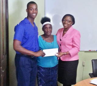 IFOJ Board Members visit Scholarship Recipients