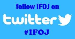 follow ifoj on twitter