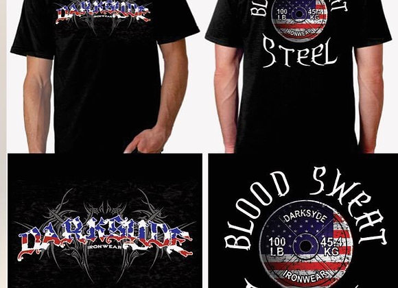 Blood Sweat Steel t-shirt