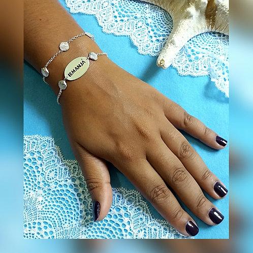 Kit Iemanjá com 2 pulseiras de prata 925