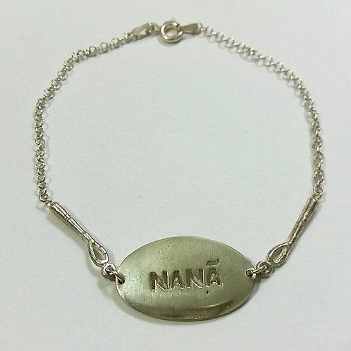 Pulseira de Nanã em prata 925