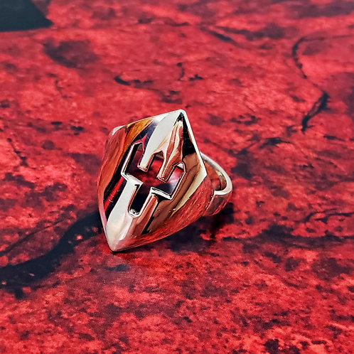 Anéis de Orixás em prata sem pedras