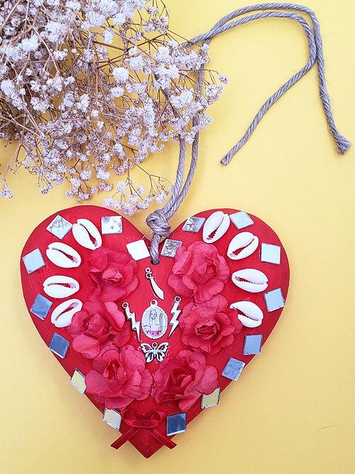 Coração de Fé em Iansã/Oyá
