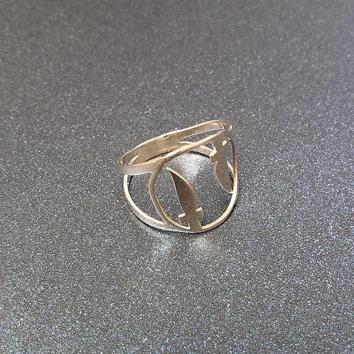 Anel de orixás em prata