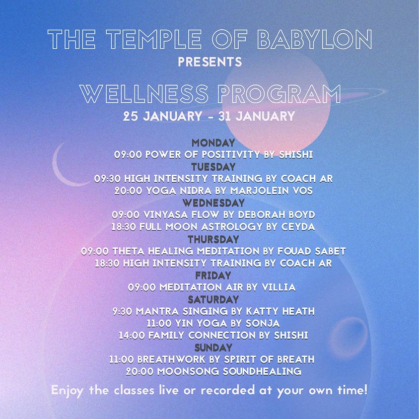 The Temple of Babylon Wellness Week
