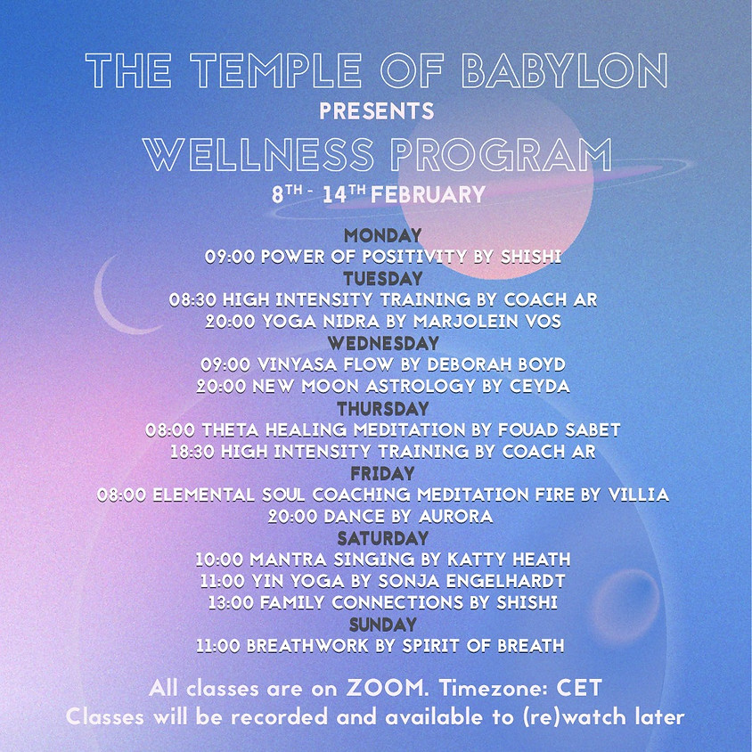 08.02 - 14.02 The Temple of Babylon Week