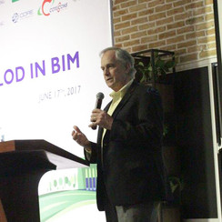 Our very own Jim Bedrick gave our team a workshop and a lecture at BIMVNC.