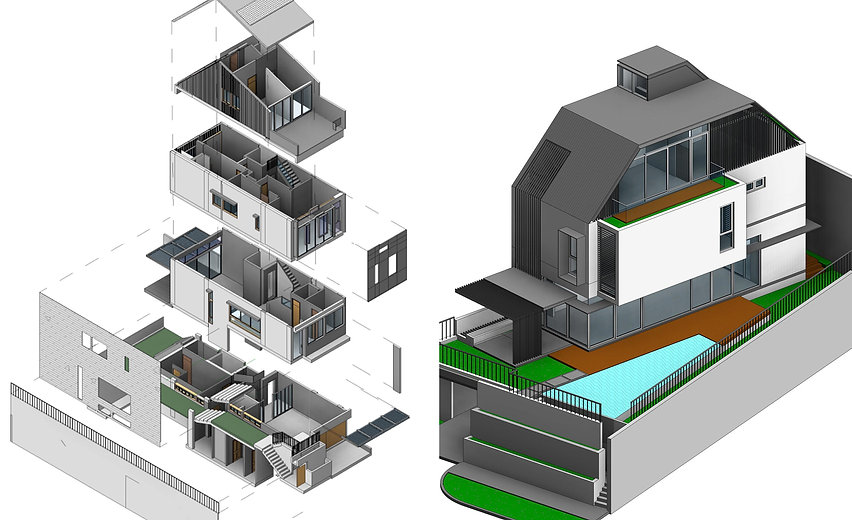 Automated building assembly technology.