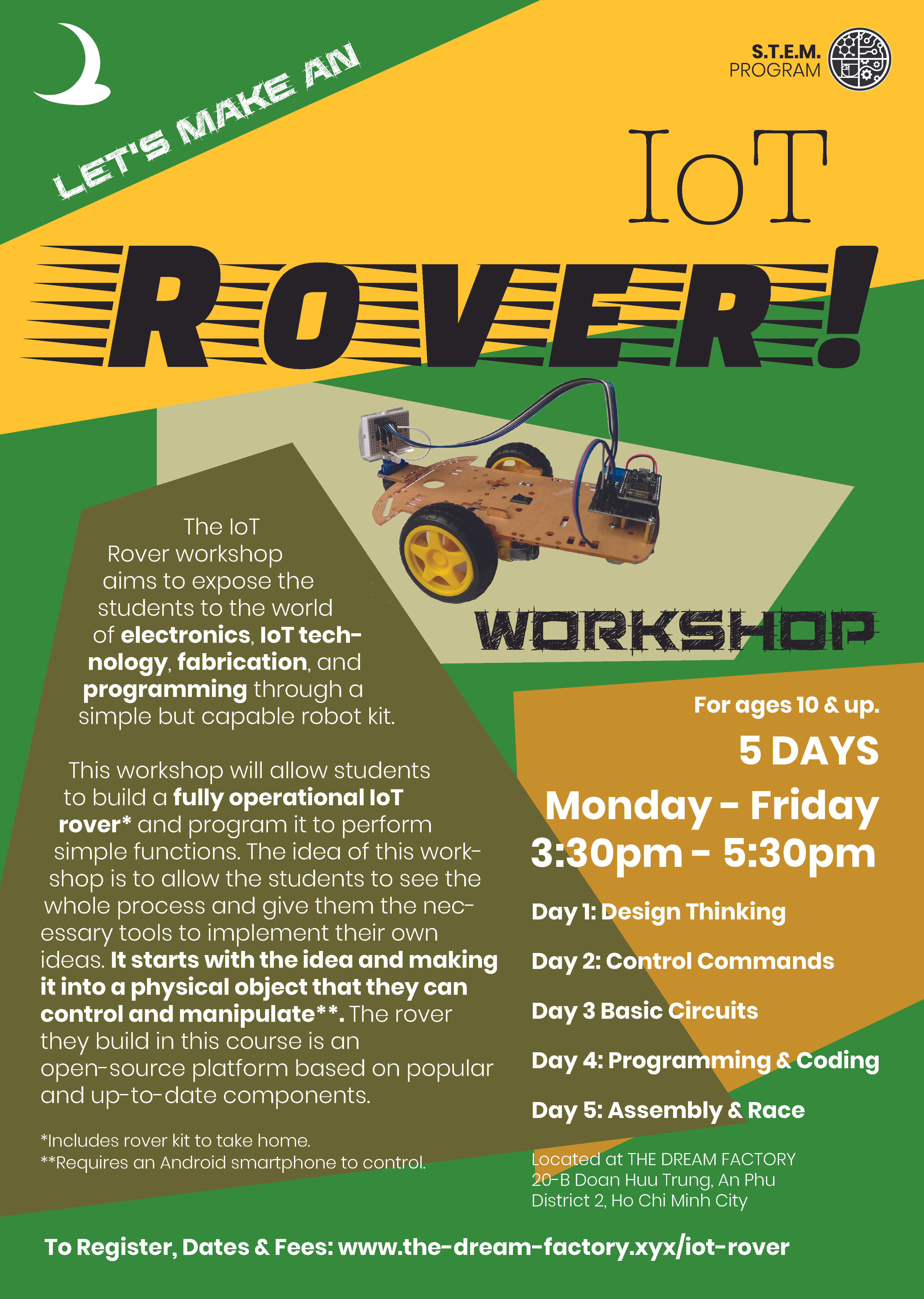 IoT Rover Workshop | June 15th-19th