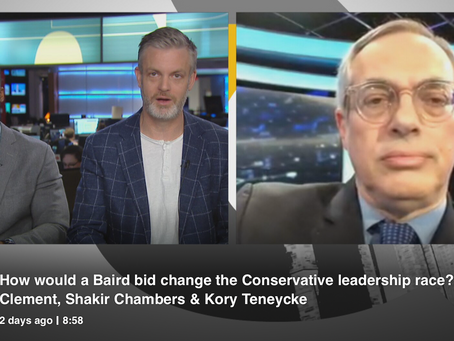 WD's Tony Clement joins CBC's Power & Politics to discuss John Baird considering CPC Leadership Bid