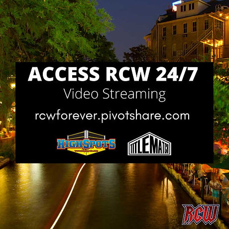 Watch RCW 24 hours a day, 7 days a week with video streaming