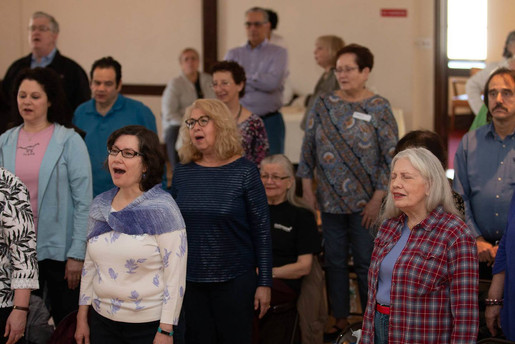 Move to the Music, a Free workshop by Richmond Choral Society