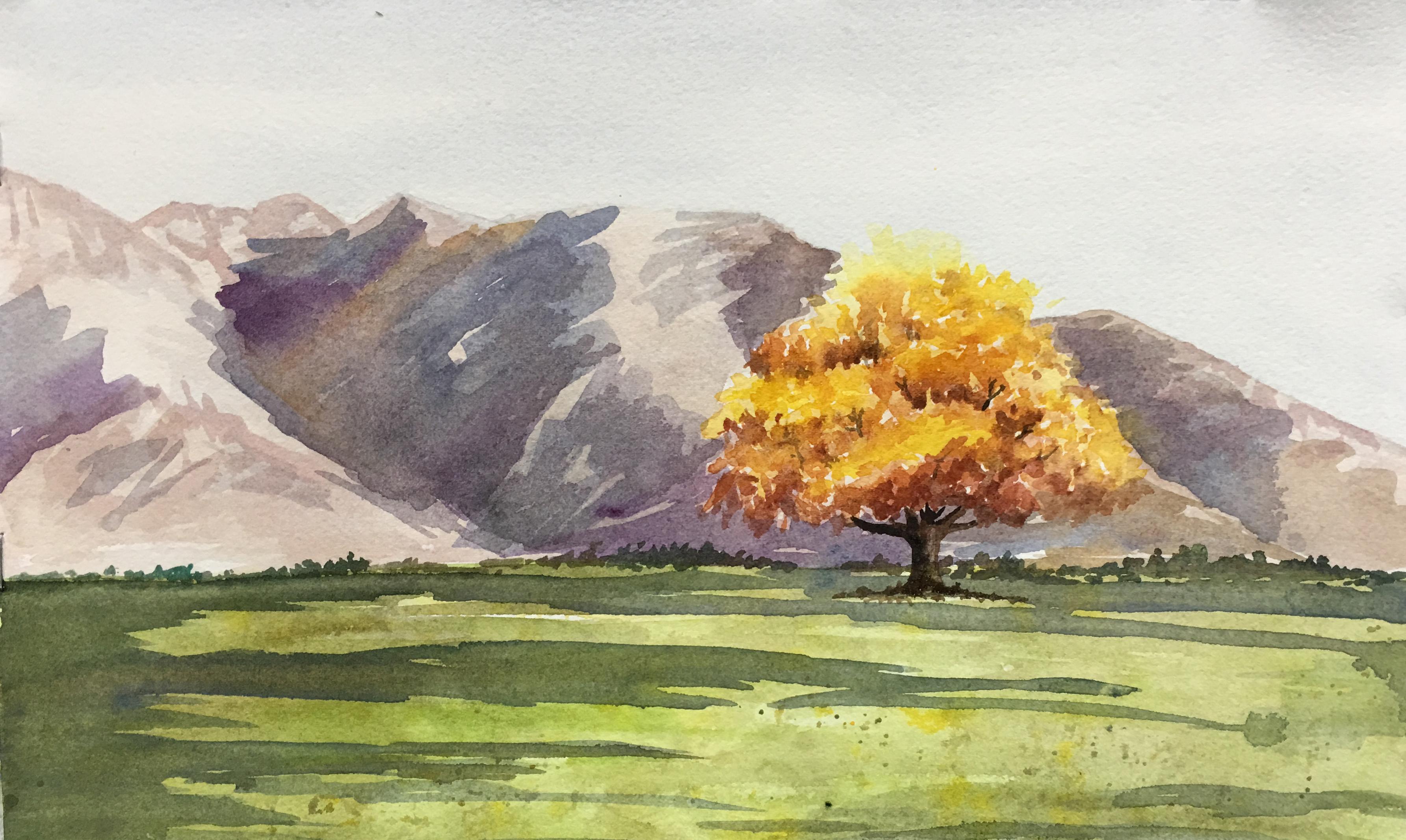 Single Fall Tree