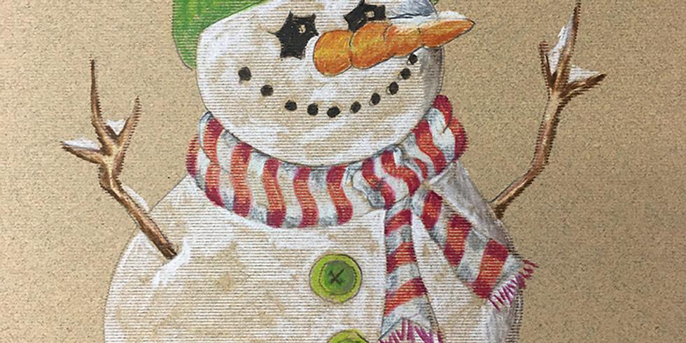 KIDS AFTER-SCHOOL  Winter & Holiday Art