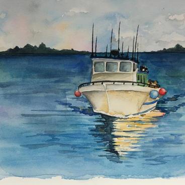 Water in Watercolors
