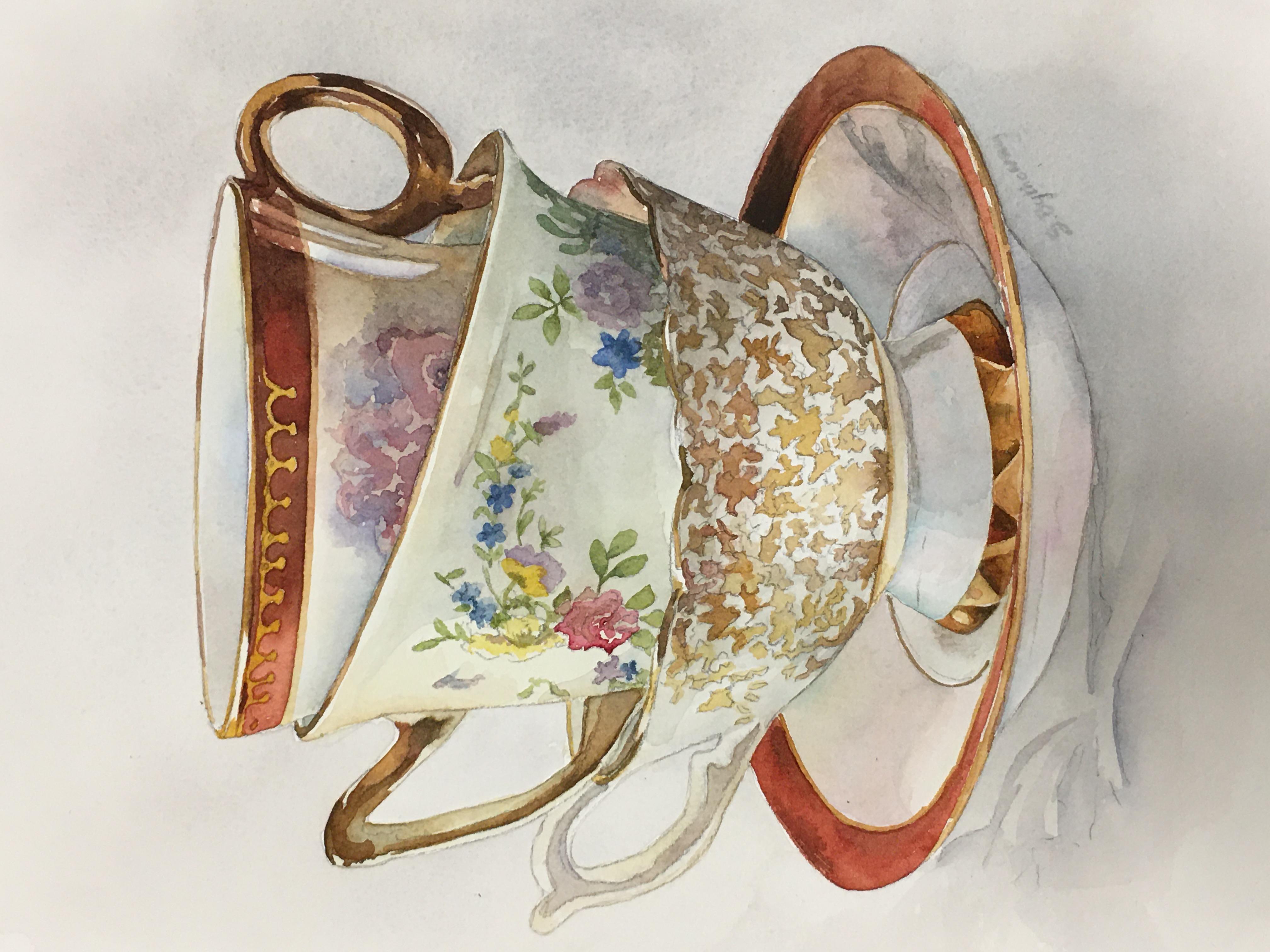Nested Teacups