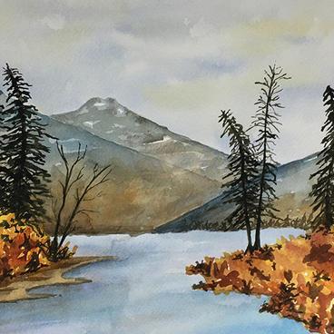 Fall Watercolors