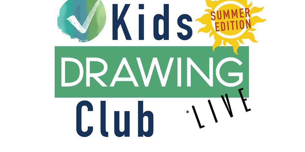 KIDS DRAWING CLUB (LIVE)