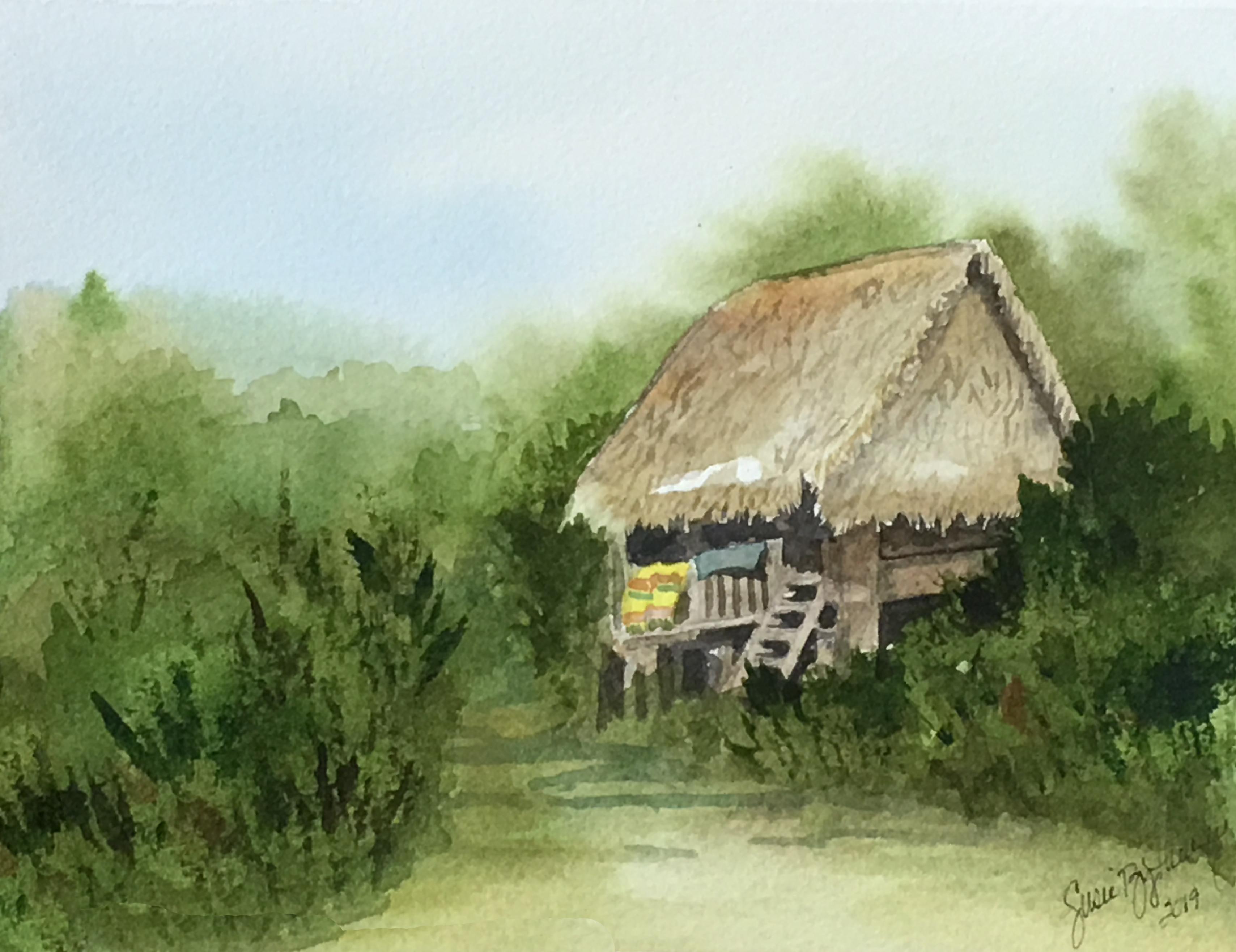 Panama Indian Hut
