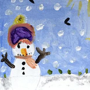Kids Winter Art