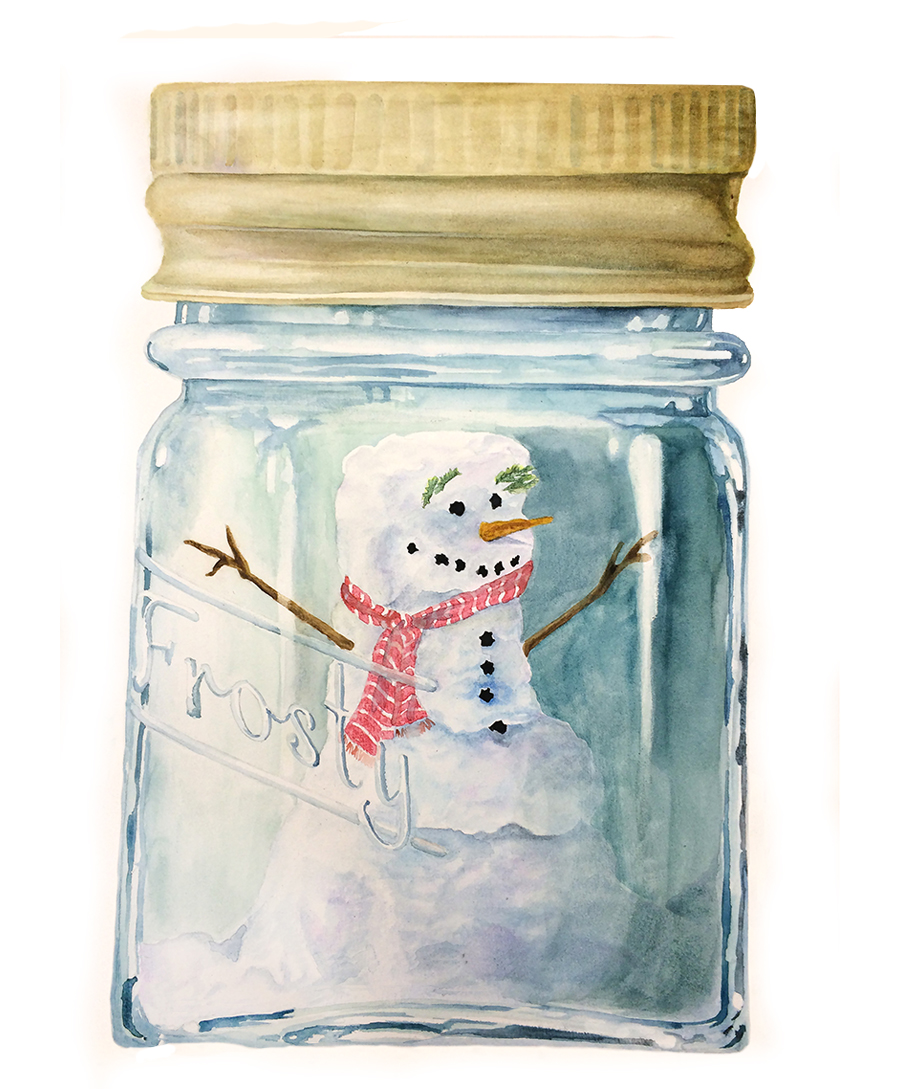 Canned Snowman