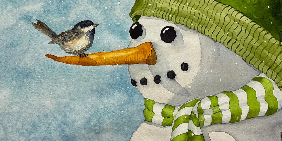 WINTER/ HOLIDAY WATERCOLOR CLASS