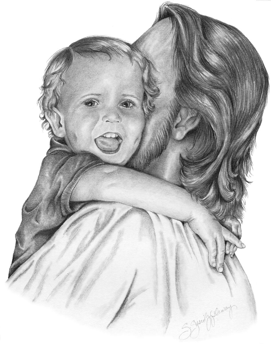 A hug for Jesus