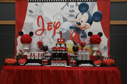 Candy Bar Sweet table Mickey