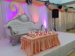 Scène des mariés