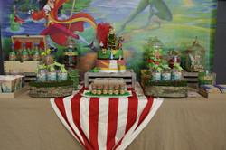 Candy bar Sweet table Peter pan