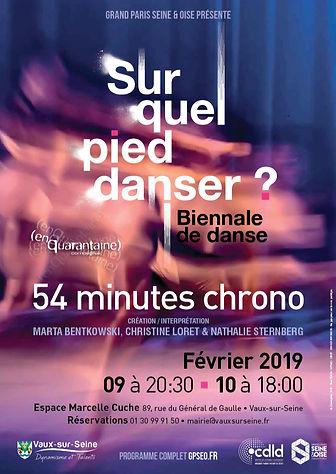 54 minutes chrono - Vaux sur Seine 2019.