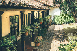 Hotel colonial cerca a Tibana