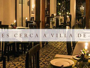 Hoteles cerca a Villa de Leyva