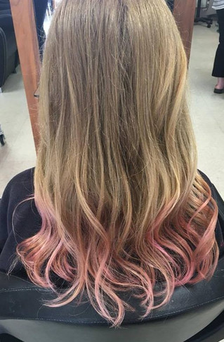 It's summer Holidays!! It's Milkshake colour time!! Book NOW